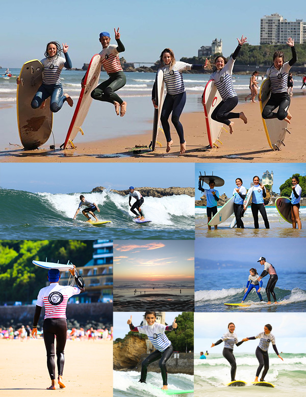 Surf school Biarritz